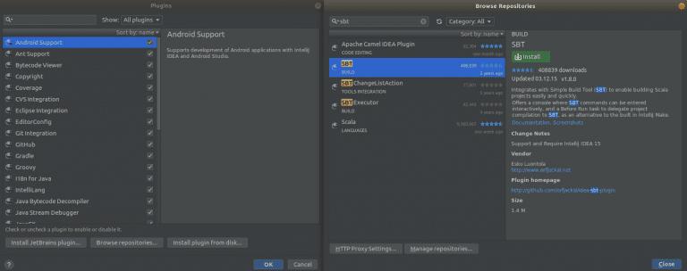 Configuration of Apache Spark, Scala and IntelliJ IDEA – Big