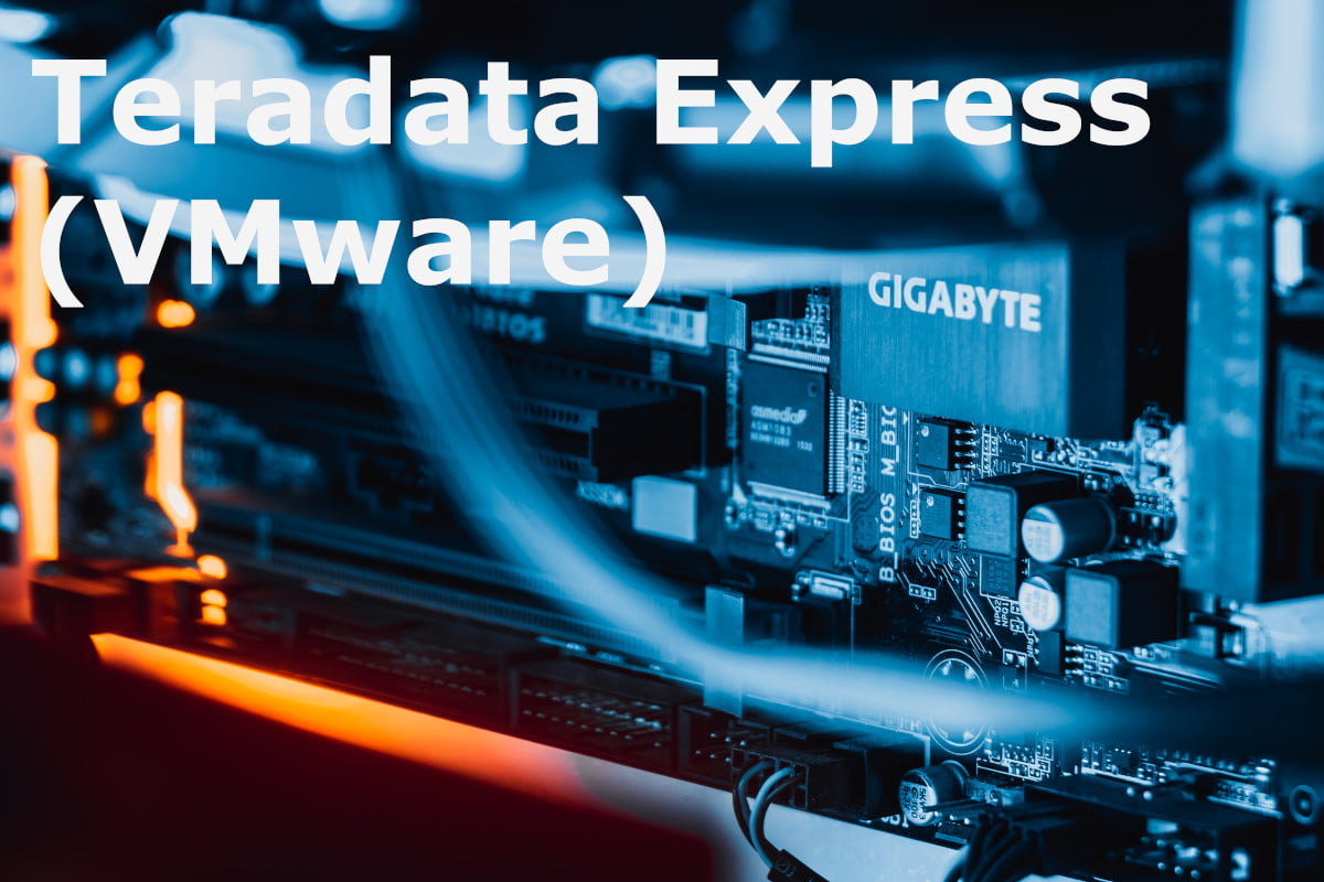 Teradata: Jak zainstalować Teradata Express na VMware Workstation Player na systemie Windows